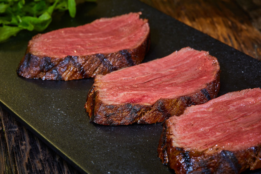 Saftiges Steak mit der Sous Vide Methode perfekt auf den Punkt gegart